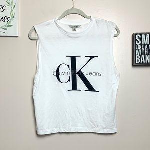 Calvin Klein Jeans Logo Tank Top